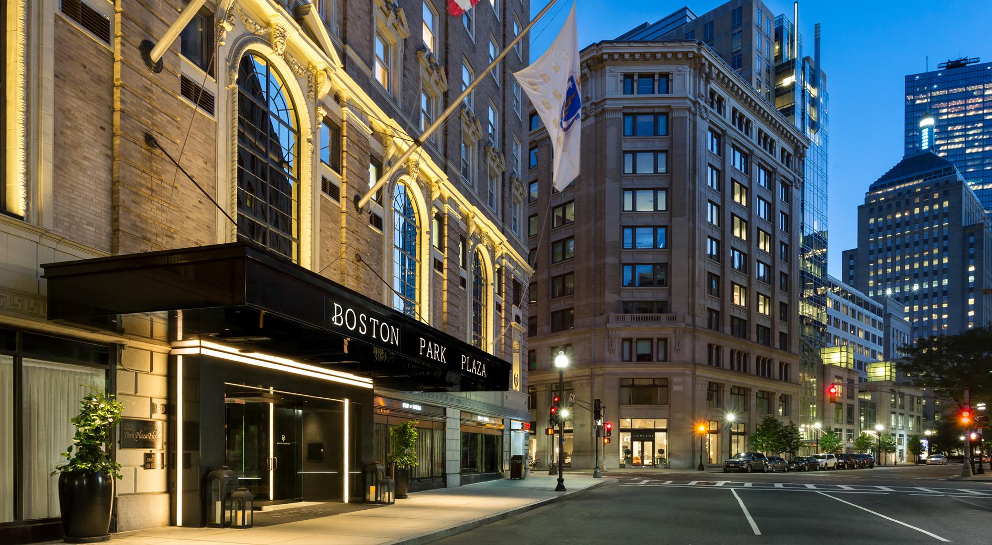 Boston Park Plaza Best Hotels In Boston Downtown Back Bay